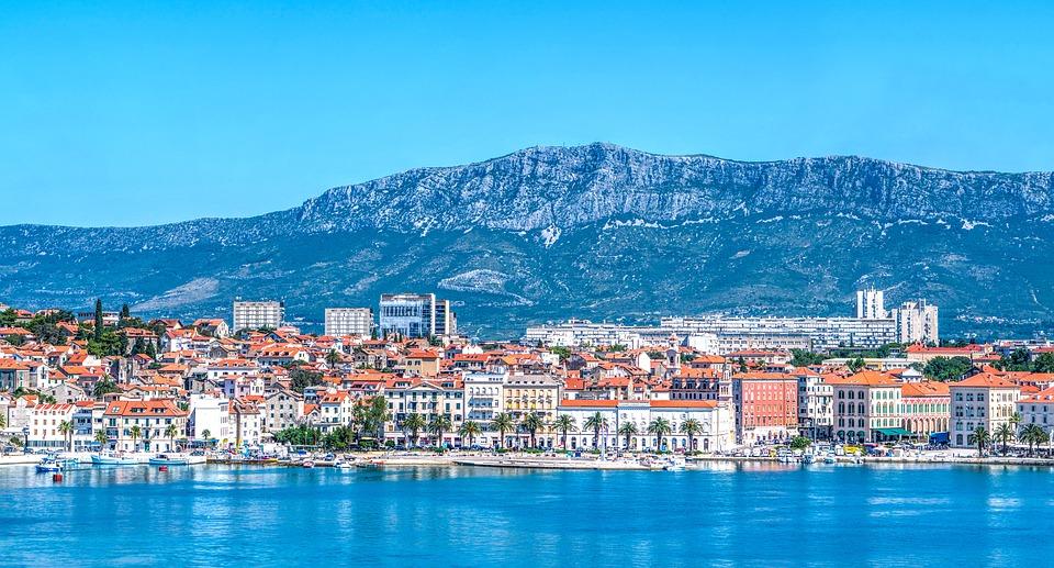 výhled na Split