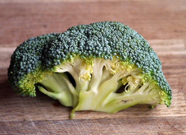 Hlavička brokolice